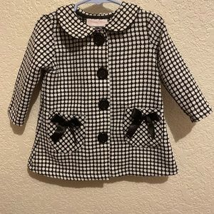 Bonnie Baby Jackets & Coats - Lil Girls Dressy Coat Bonnie Blue Only